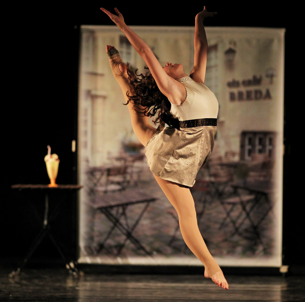 "Ulla Schwab - Europameisterin Showdance Solo 2011 in Gibraltar. Choreographie ""with icecream it is love"" von Petra Budinger"